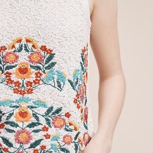 MAEVE Embroidered Lace Shell Lined